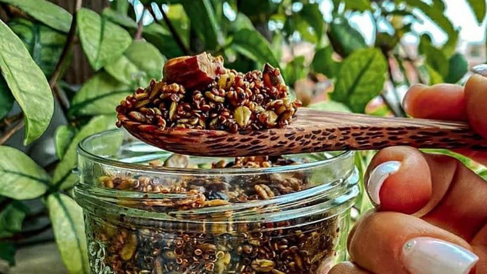 Ricetta Granola Gluten Free Veg al Matcha