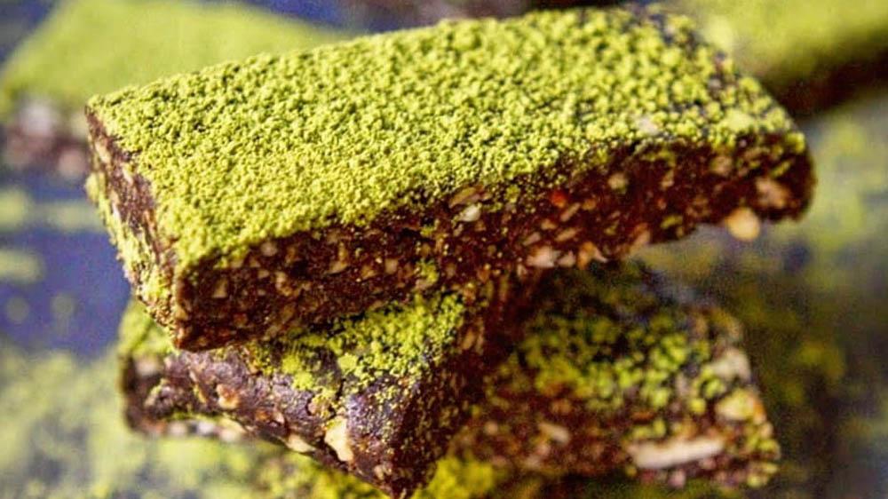Ricetta Barrette Energetiche al Matcha Veg e Gluten Free