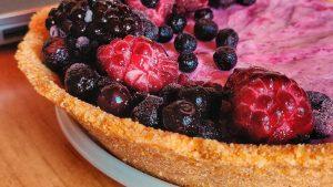 Ricetta Cheesecake Salutista con Ghee ed Eritritolo